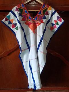 Embroidered Huipil $2,200 pesos plus shipping (mas envio)