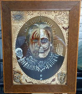 "Antique photo: ""La Muerte"" $2500 pesos plus shipping (mas envio)"