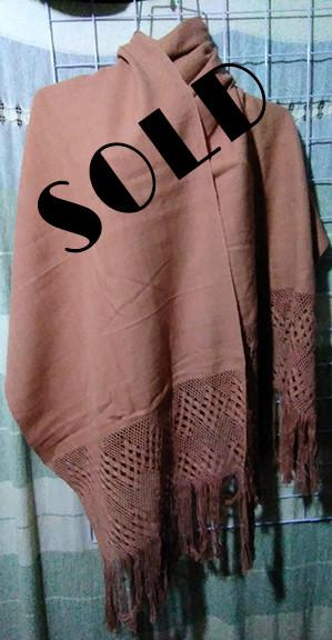 SOLD-Hand-Woven Cotton Rebozo $1000 plus shipping (mas envio)