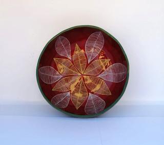 Gourd bowl diameter 15 cm. Circumference 48 cm. Price $700.0-2.jpeg