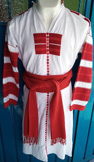 Oxchuc men's traditional suit $1,900 pesos plus shipping (mas envio)