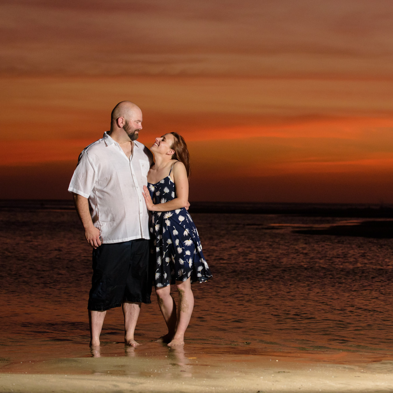 Romance and sunsets in Tamarindo