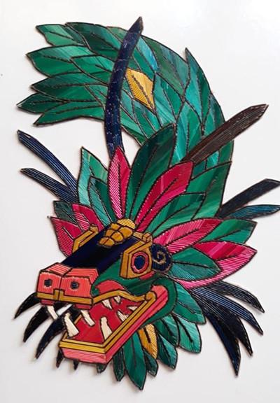 Quetzalcoatl Popotillo $480 pesos plus shipping (mas envio)