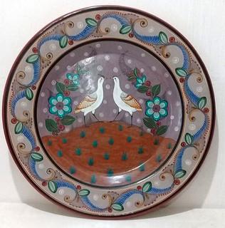 Barro Bruñido Plate $8,000 pesos plus shipping (mas envio)