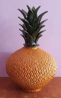 Hilario Alejos Madrigal: Hand-crafted ceramic piña  $4,000 pesos plus shipping (mas envio)