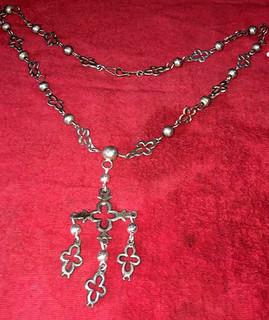 Silver Yalalag Cross Necklace $5500 pesos plus shipping (mas envio)