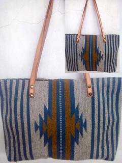 """""""Lightning"""" Wool Bag $720 pesos plus shipping (mas envio)"""