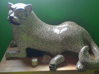 Ceramic jaguar $5,000 pesos