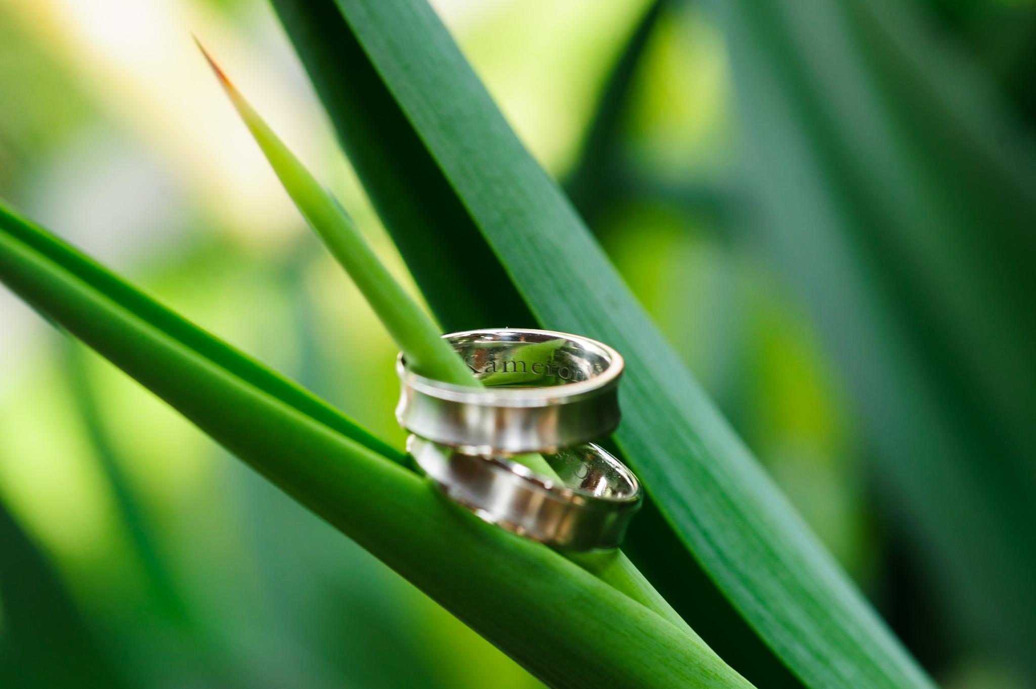 Wedding ring shot at Casa Alang Alang