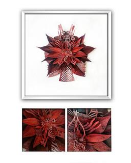 """NOPAL BLOOD"" Papercut Art $3,900 pesos plus shipping (mas envio)"