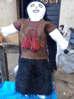 First Place Concurso Winner: Chamula Handmade Doll $800 pesos plus shipping (mas envio)