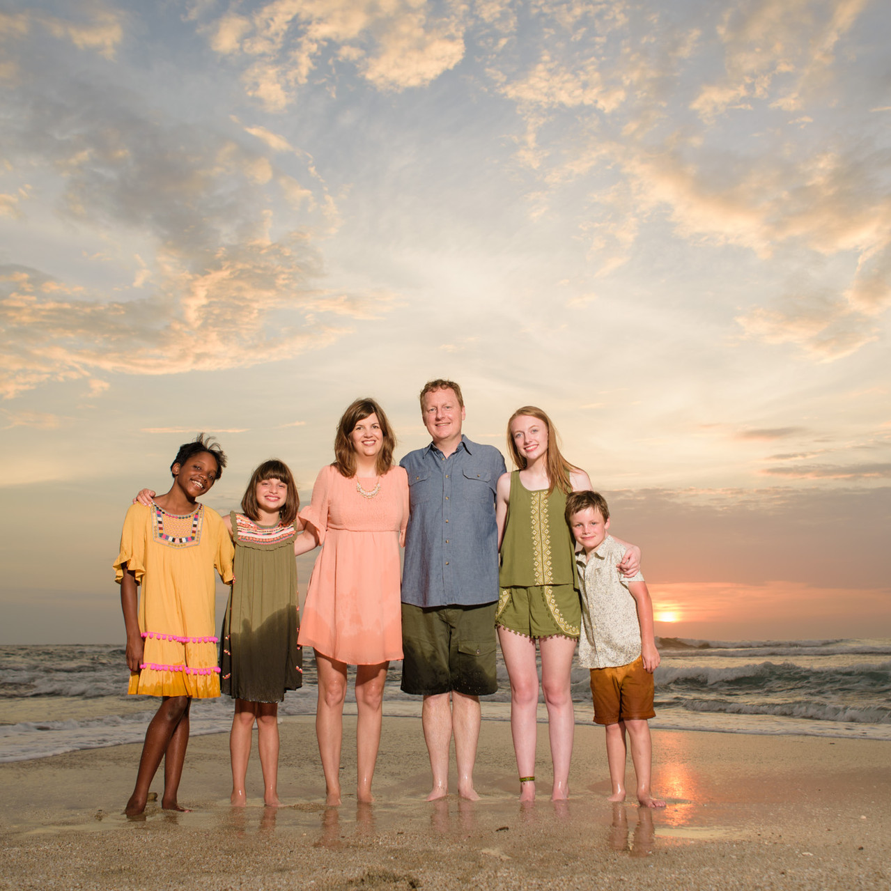 Family photography in Tamarindo