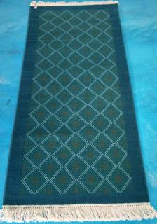 """Tenejapa"" oriental-style hand-knotted rug $9200 pesos plus shipping (mas envio)"