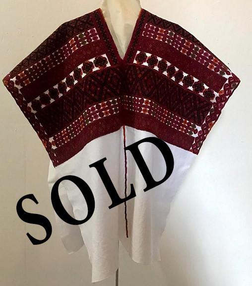 SOLD-[-Huipil $7,000 pesos plus shipping (mas envio)