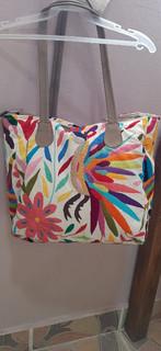 Hand-Embroidered Otomi Purse $1500 pesos plus shipping (mas envio)