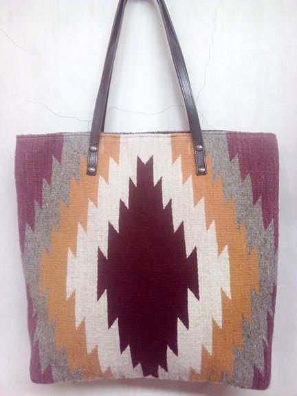 Wool Zapotec Design Bag $850 pesos plus shipping (mas envio)