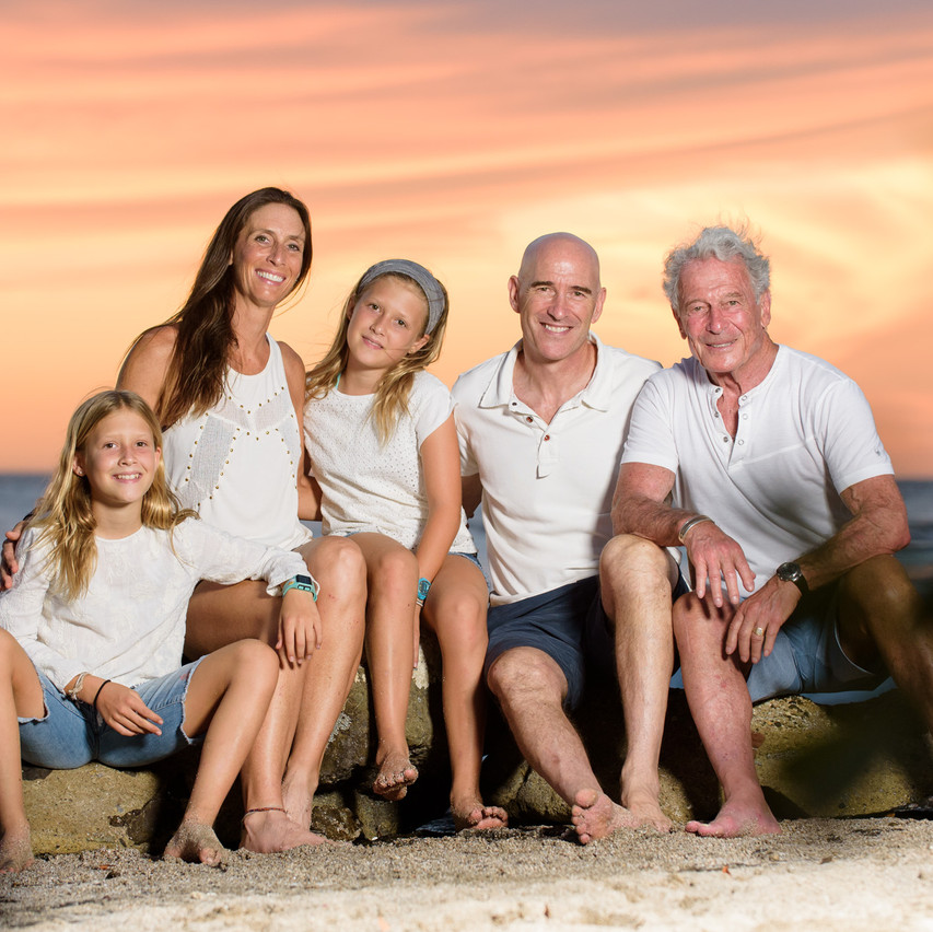 Professional family photography in Costa Rica