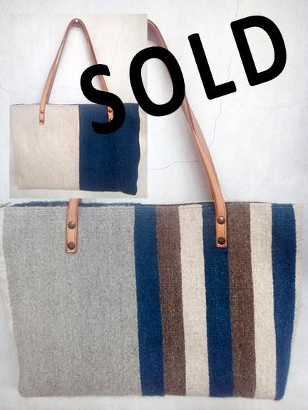 SOLD--Wool Bag $790 pesos plus shipping (mas envio)