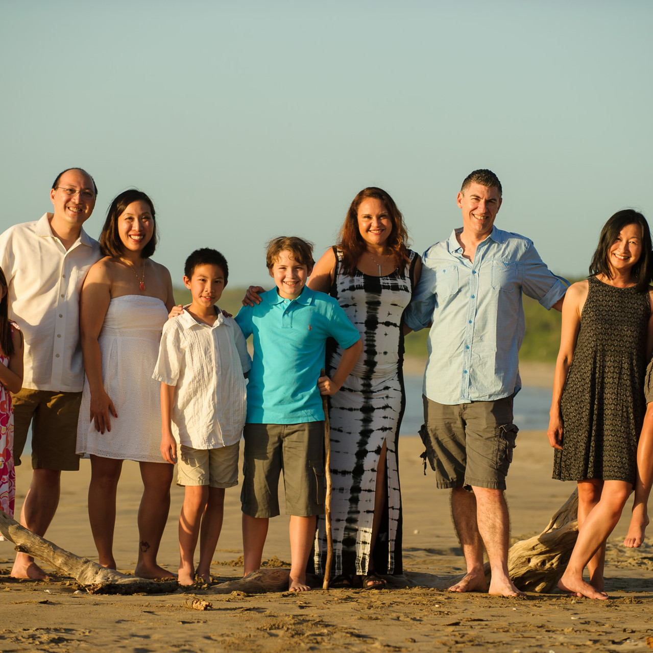 Three families together at Hacienda Pinilla