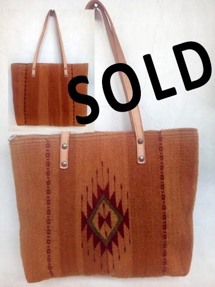 "SOLD--""Zapotec Diamond"" Wool Bag $720 pesos plus shipping (mas envio)"