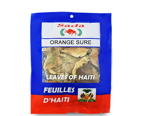 Sada Haitian Leaves - Orange sure