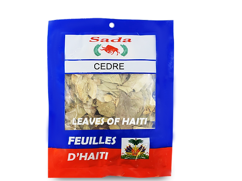 Sada Haitian Leaves - Cedre