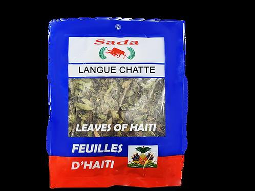 Sada Haitian Leaves - Langue chatte