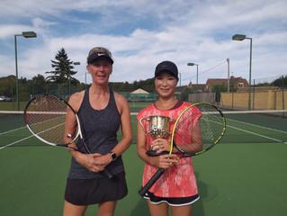 Congratulations Yoko Peyton - Bourton's 2019 Ladies' Singles Champion