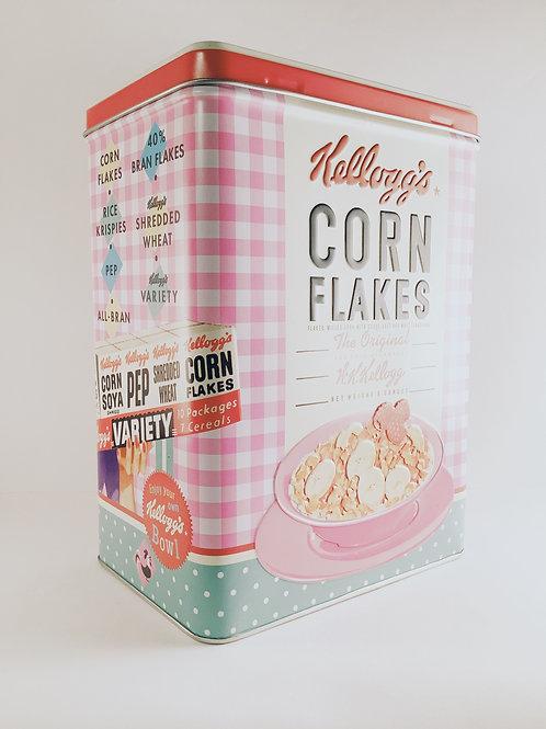 "Box ""Kellogg's Cornflakes Pink"""