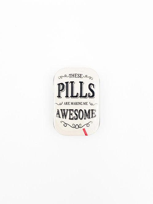 "Pillendose ""Awesome Pills"""