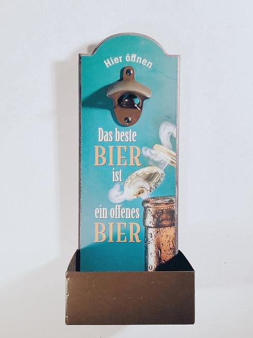 """Flaschenöffner für die Wand """"Arzt"""""""