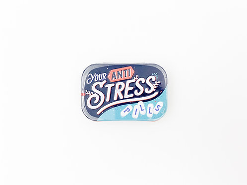 "Pillendose ""Anti Stress"""