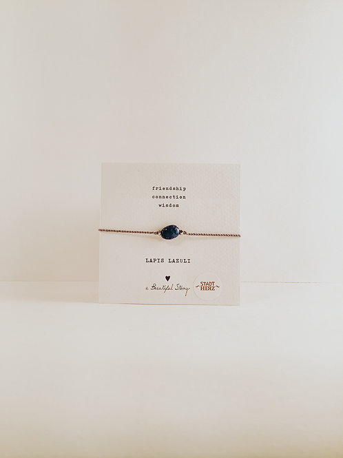"Armband ""Lapis Lazuli"""