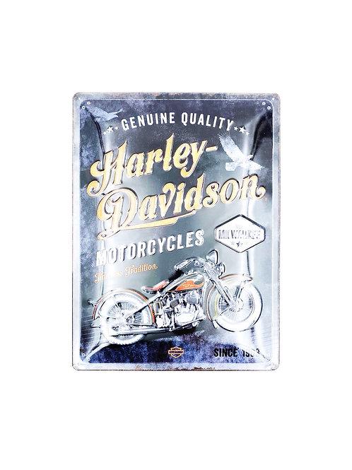"Blechschild ""Harley-Davidson"""
