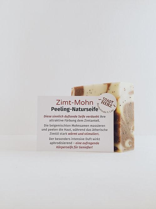 "Naturseife ""Zimt-Mohn"""