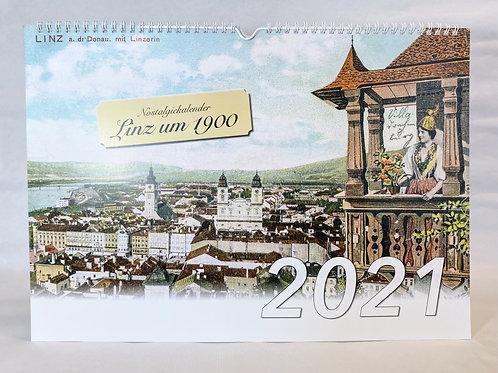"Kalender 2021 ""Linz um 1900"""