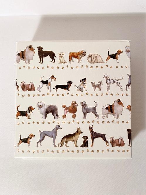 Notizblock Hunde