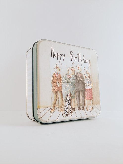 "Box ""Happy Birthday"""