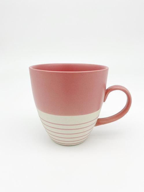 Große Tasse rosa
