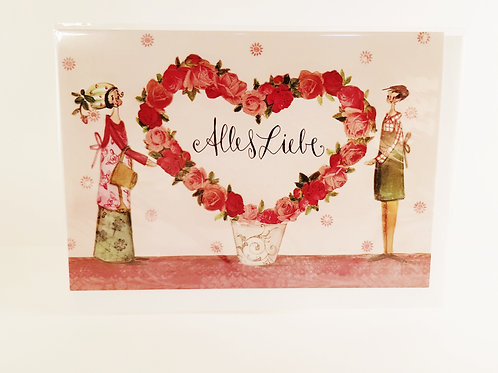 "Billet ""Alles Liebe Paar"""