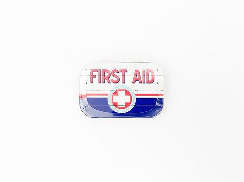 "Pillendose ""First Aid"""