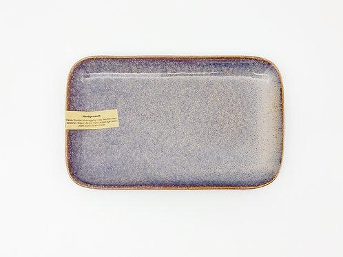 Servierplatte violett