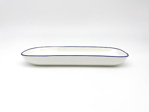 Servierplatte weiß