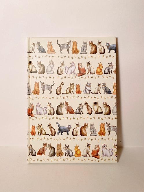 Notizbuch Katzen