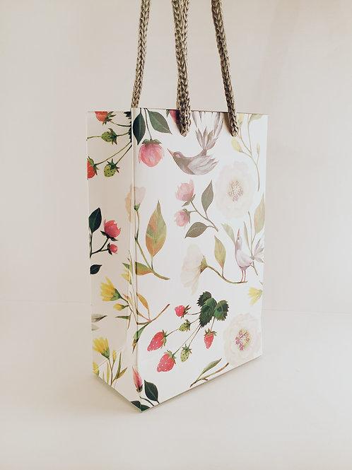 """Geschenktüte klein """"Blumenvögel"""""""