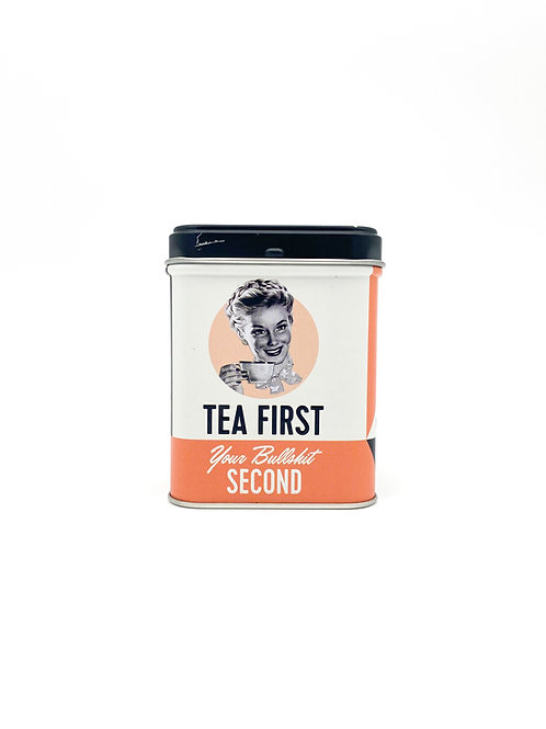 "Teedose ""Tea First"""