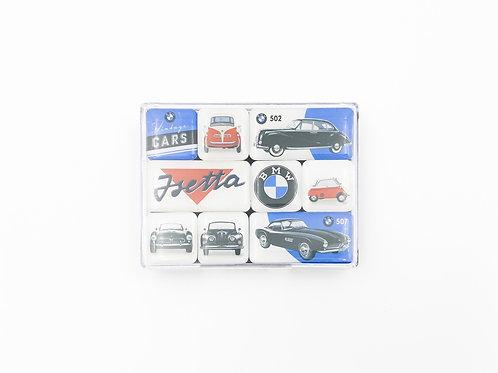 "9er Magnet-Set ""BMW Isetta"""