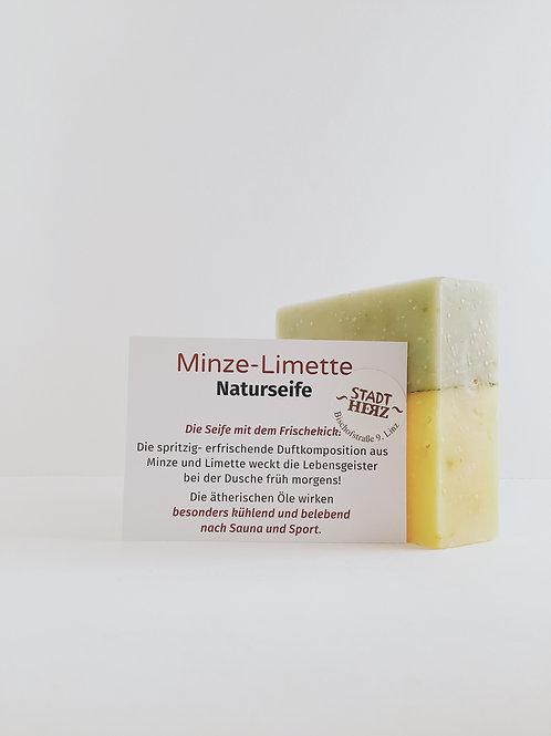 """Naturseife """"Minze-Limette"""""""