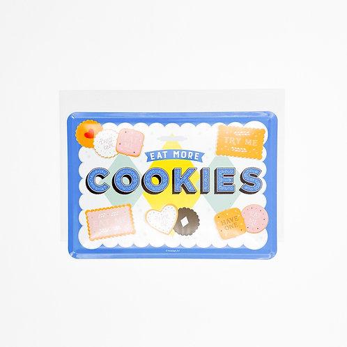 """Blechpostkarte """"Cookies"""""""