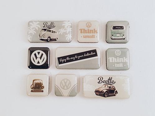 "Magneten ""VW Beetle & Bulli"""